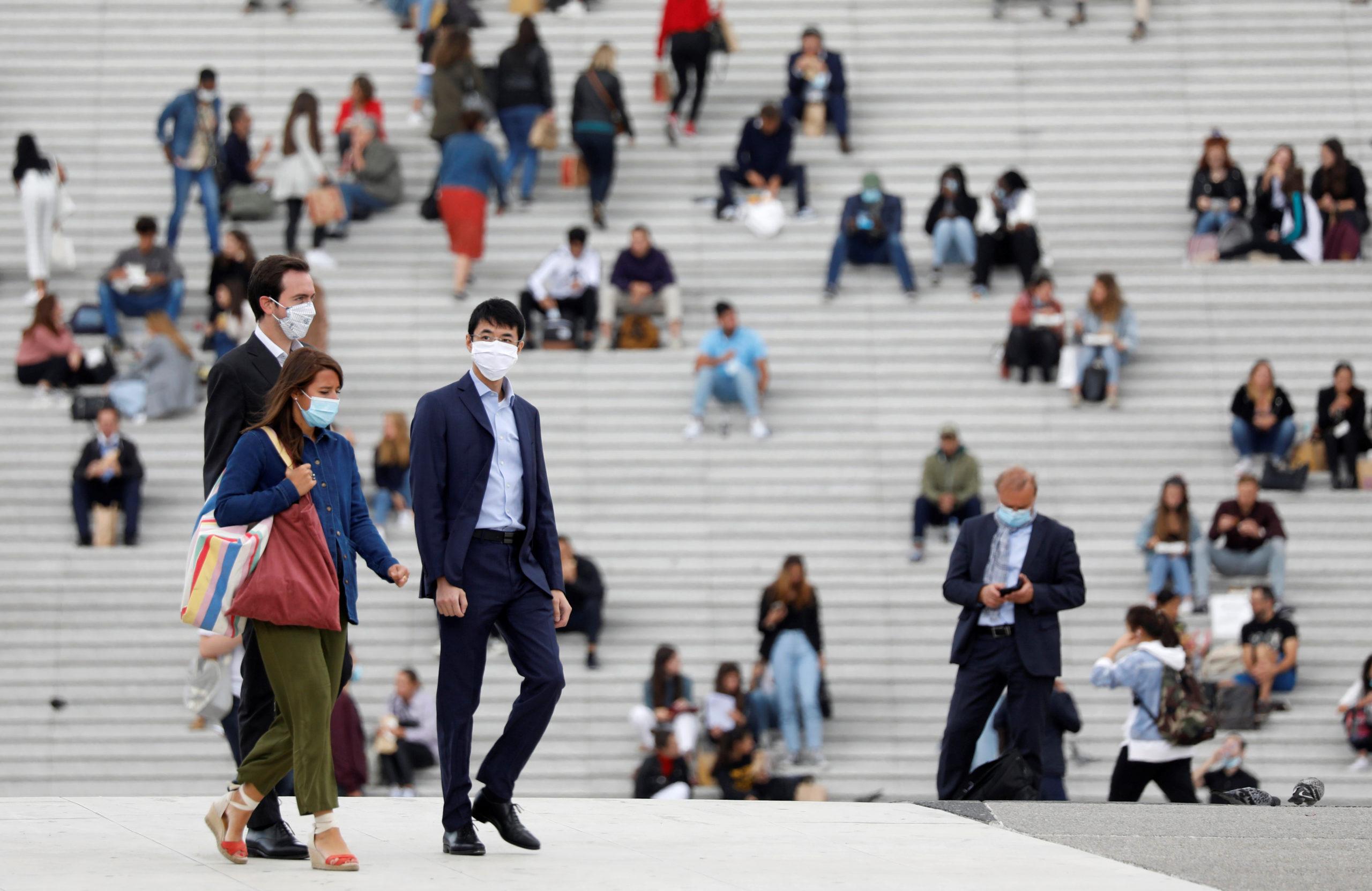 Coronavirus: La France enregistre 8.550 nouveaux cas en 24 heures