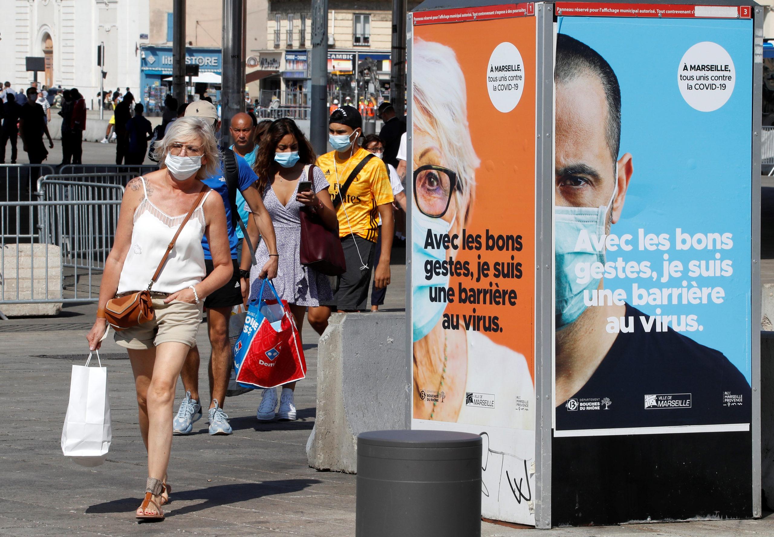 Coronavirus: La France fait état de 10.569 nouvelles infections