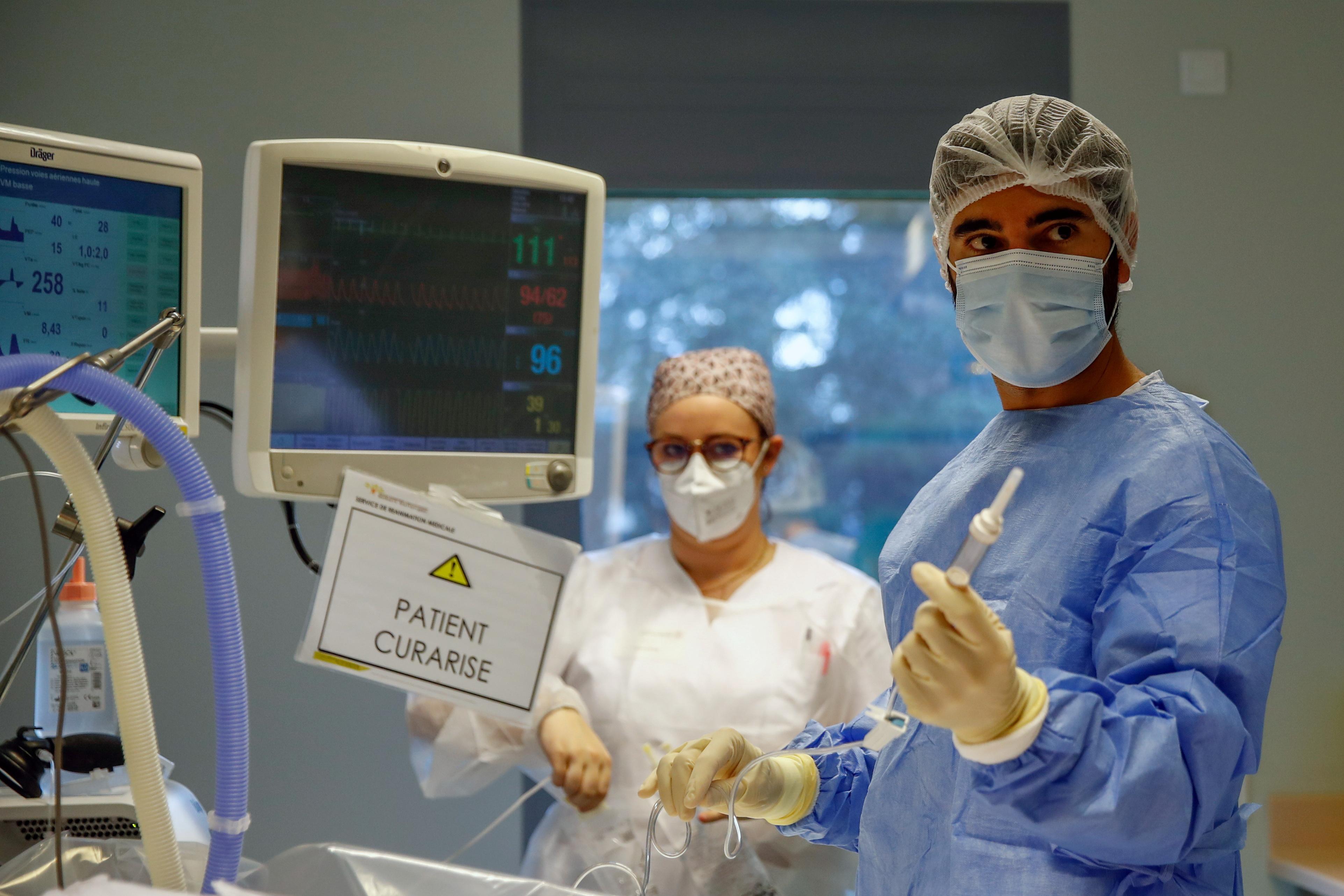 Coronavirus: Plus de 523 décès recensés en 24 heures en France