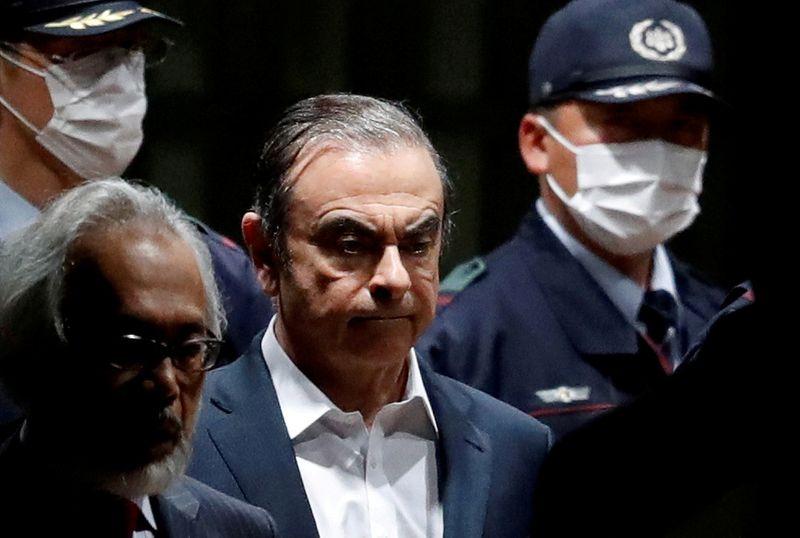 """En fuite au Liban, Ghosn dit refuser d'être """"otage"""" au Japon"""
