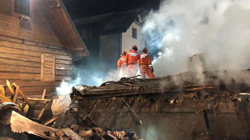 Explosion de gaz dans une station de ski en Pologne, huit morts