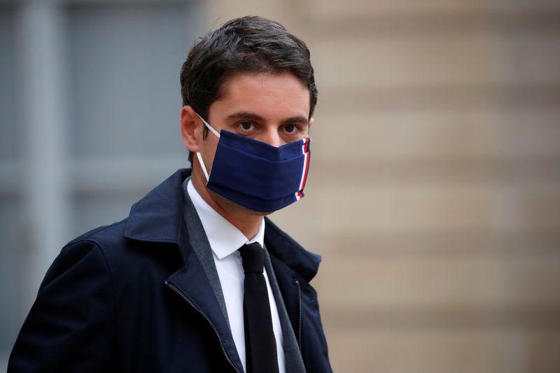 """France/Coronavirus: Divers scénarios à l'étude, maintien d'un simple couvre-feu """"peu probable"""", selon Attal"""