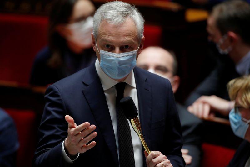 France: Difficile d'atteindre une croissance de 6% en cas de reconfinement, selon Le Maire