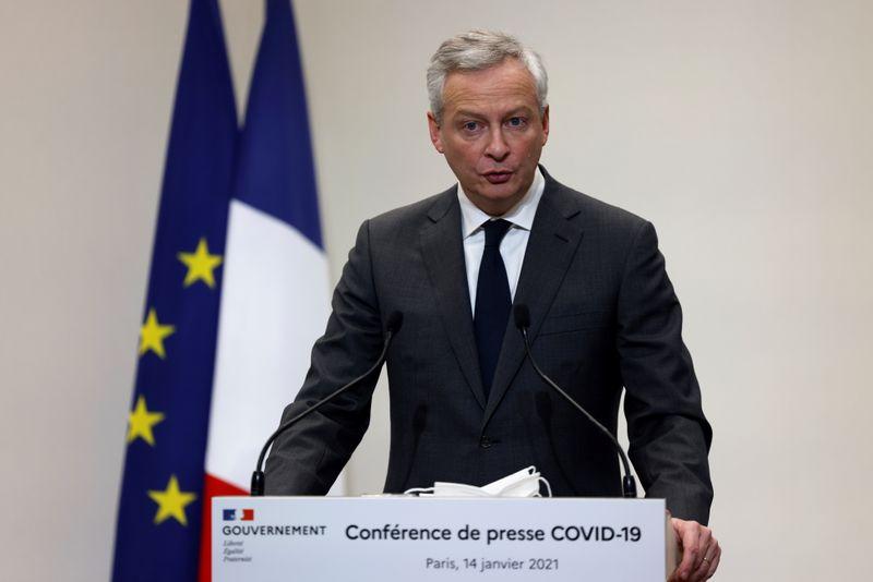 France: Le remboursement des PGE pourra être différé d'un an, annonce Le Maire