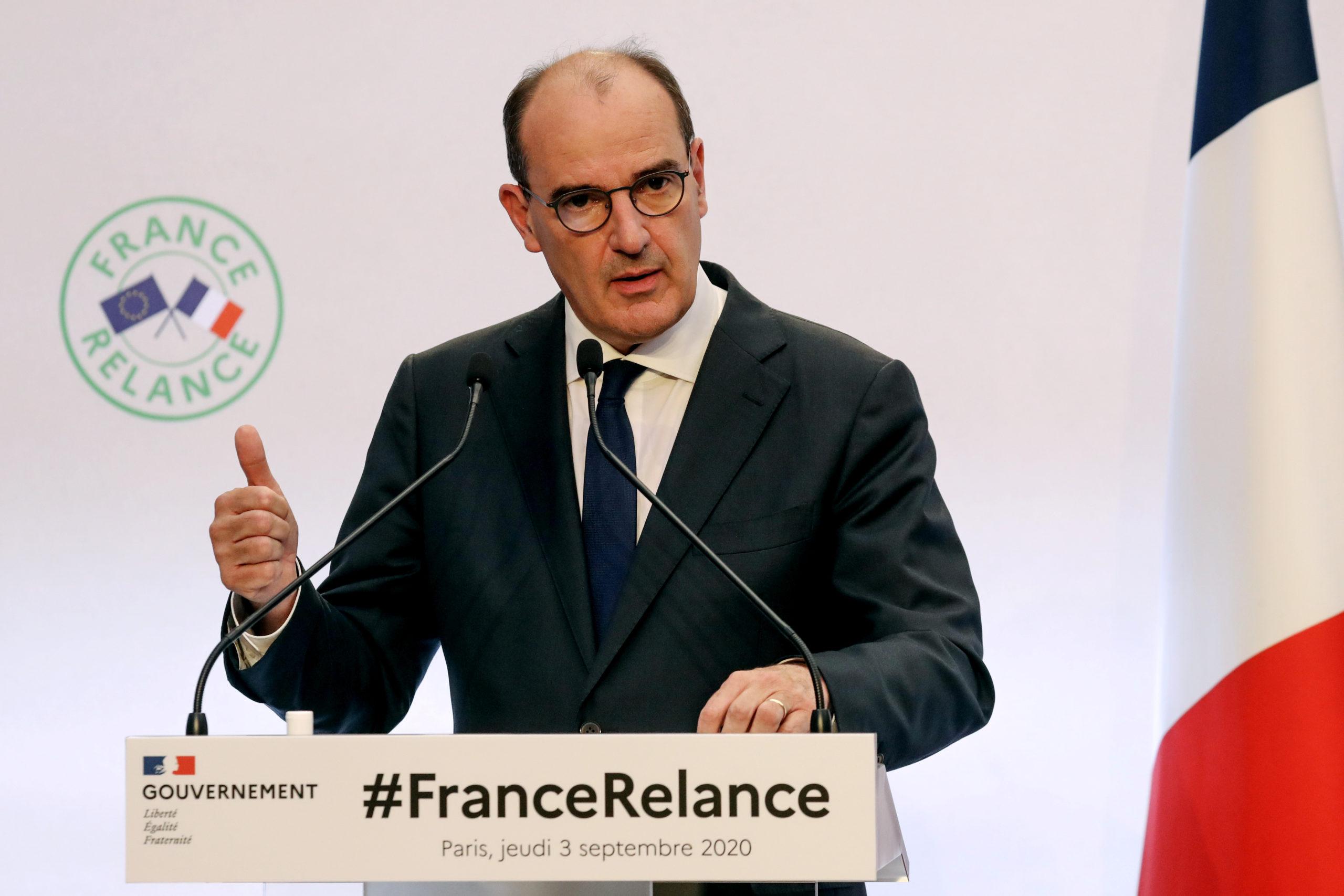 """""""France Relance"""", un plan à 100 milliards d'euros pour l'économie et l'emploi"""
