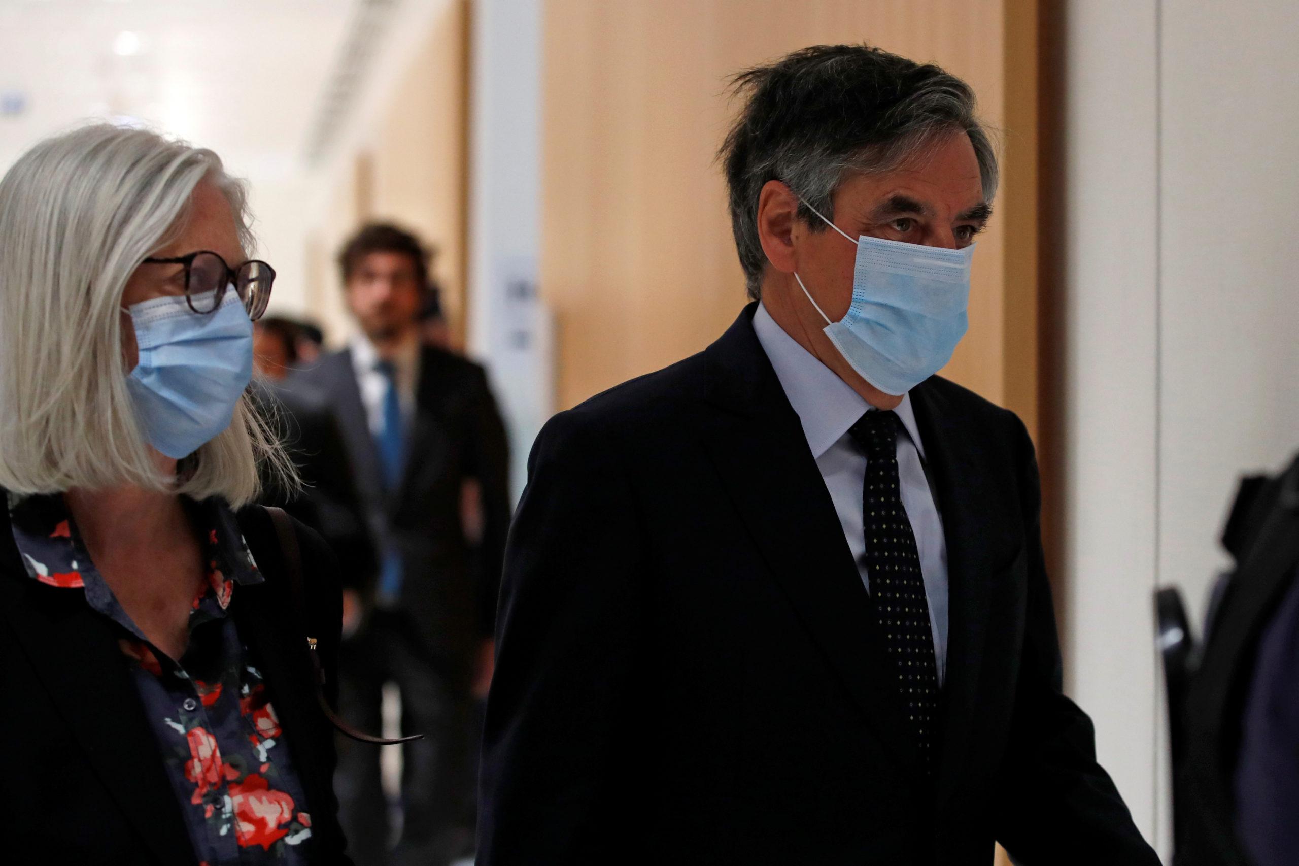 François Fillon condamné à de la prison ferme pour les emplois fictifs de sa femme