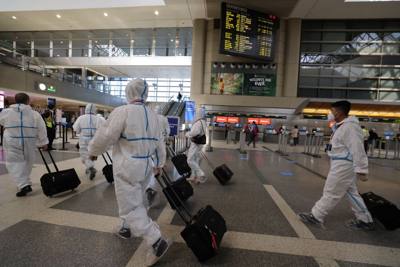 Fréquentation record dans les aéroports depuis mars avant Thanksgiving