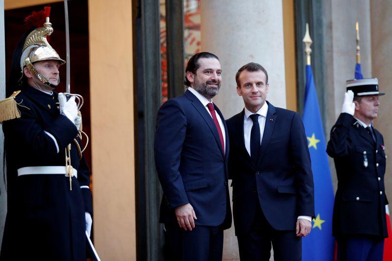 Hariri et Macron ont discuté de la crise au Liban, de la formation d'un gouvernement