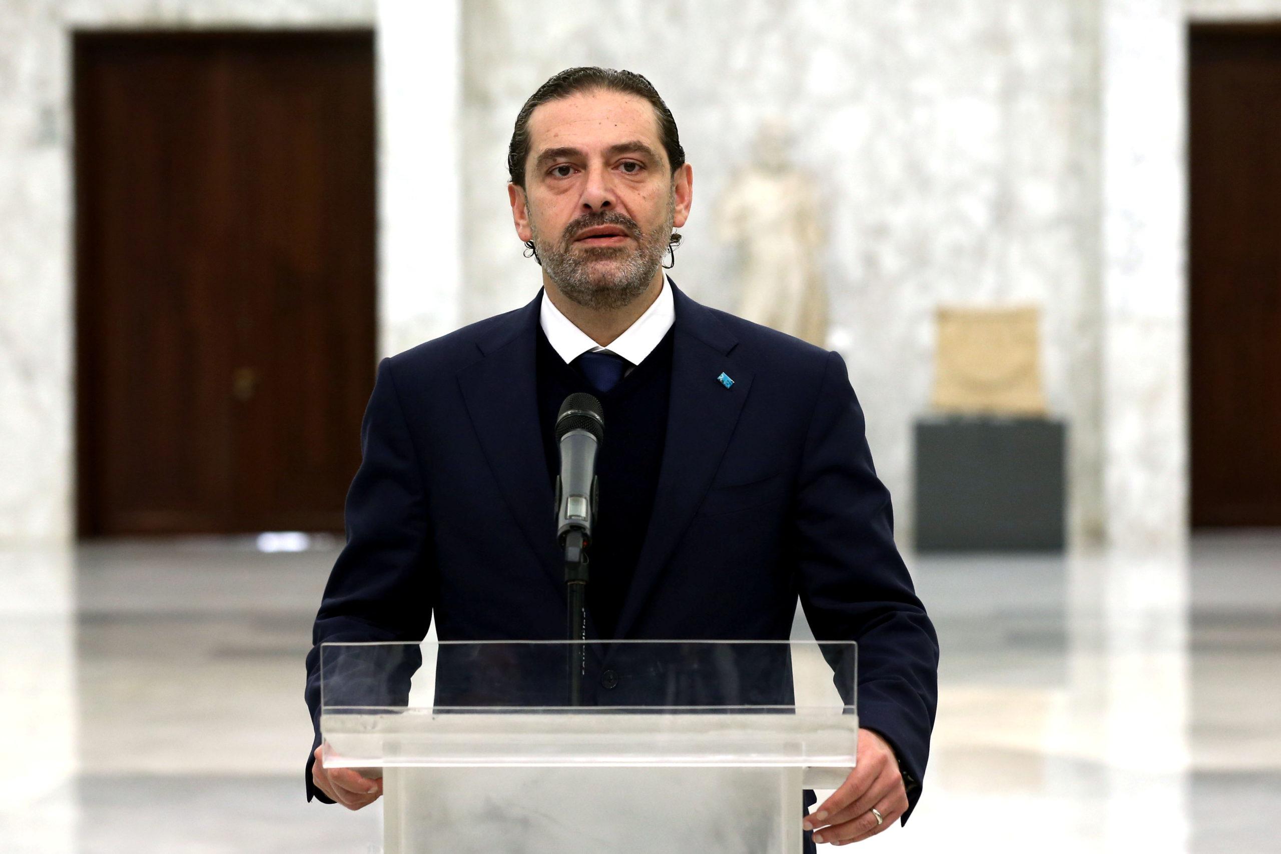 Hariri ne voit aucune sortie de crise sans un soutien arabe au Liban