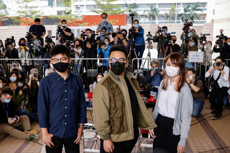 Hong Kong: Le militant Joshua Wong plaide coupable de rassemblement illégal