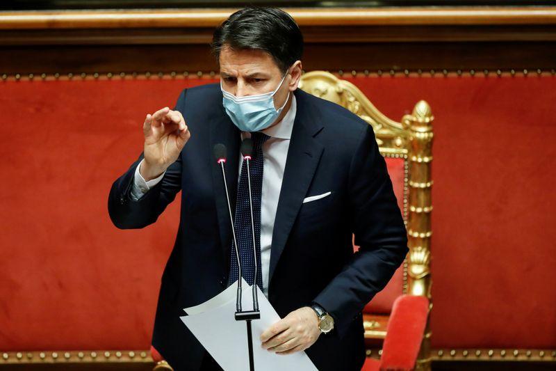 Italie: Conte en quête d'un nouveau mandat pour sortir de la crise politique