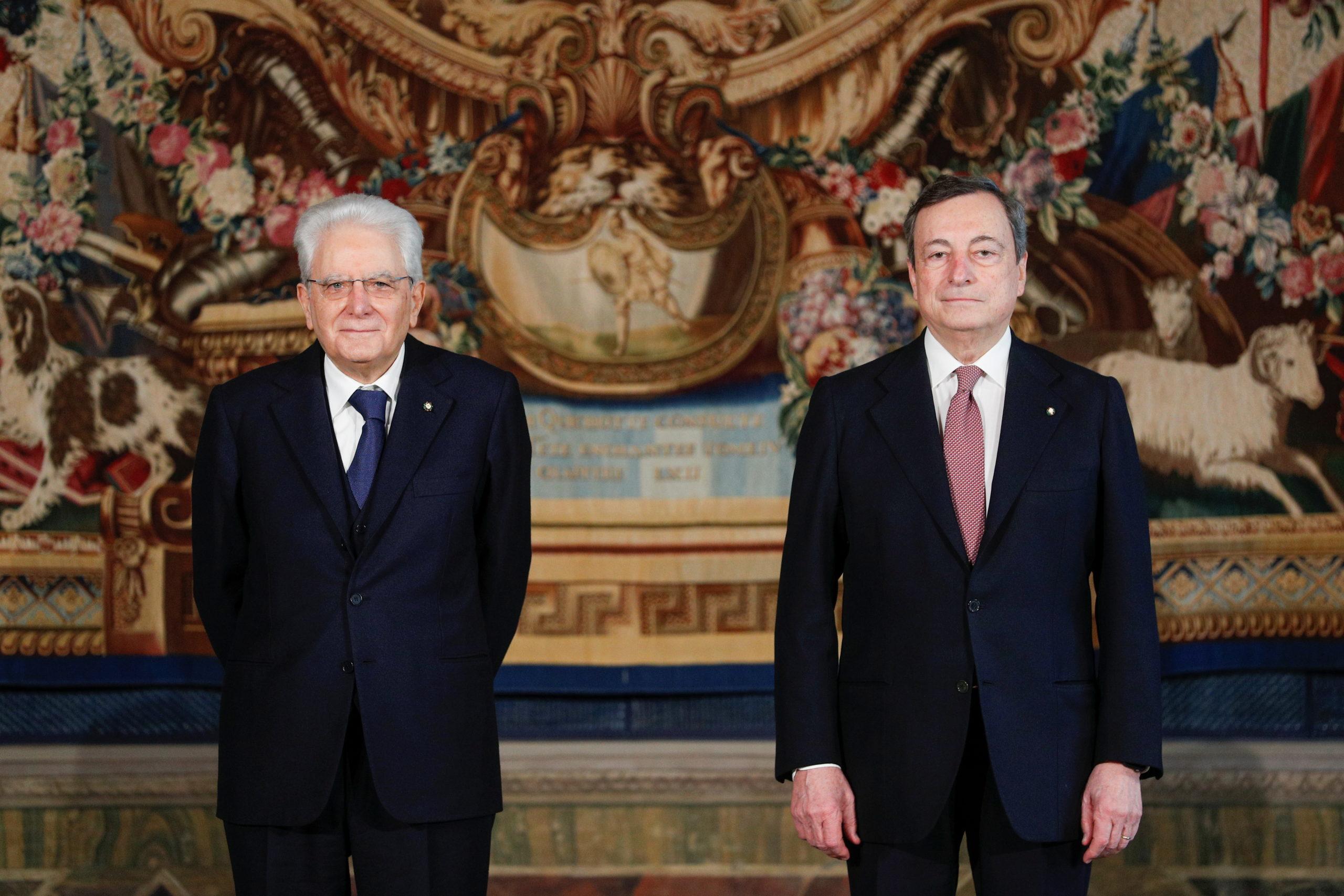 Italie: Draghi, nouveau président du Conseil, a prêté serment