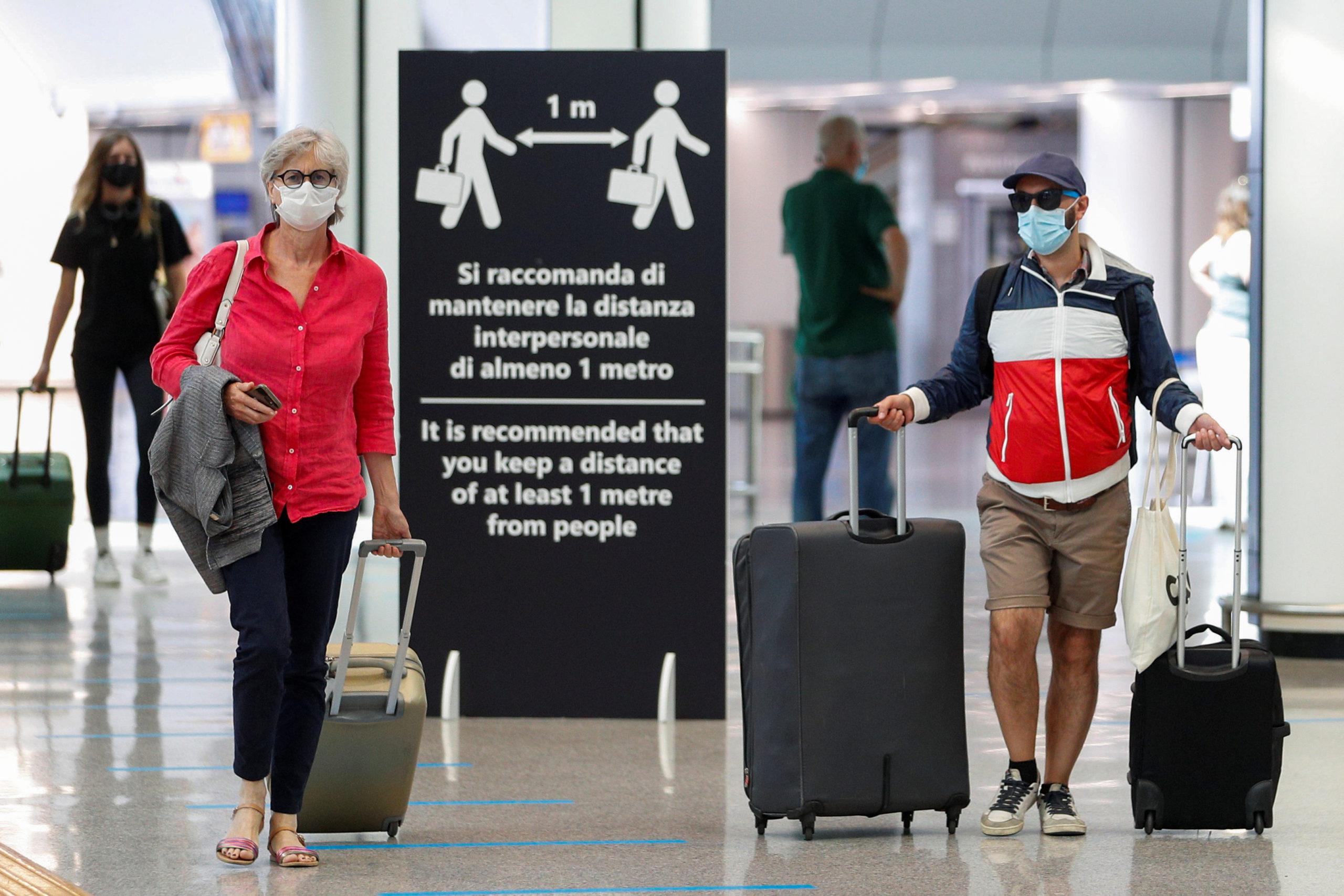 Italie: Tests obligatoires pour les voyageurs venant de sept régions françaises
