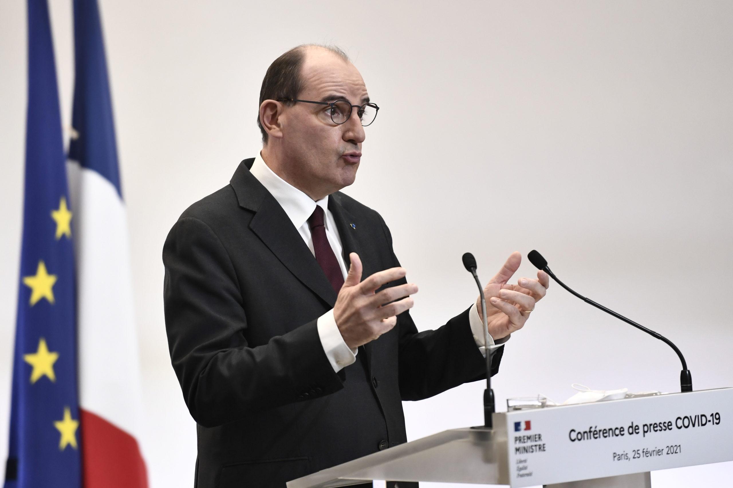 Jean Castex annonce un confinement le week-end dans le seul Pas-de-Calais