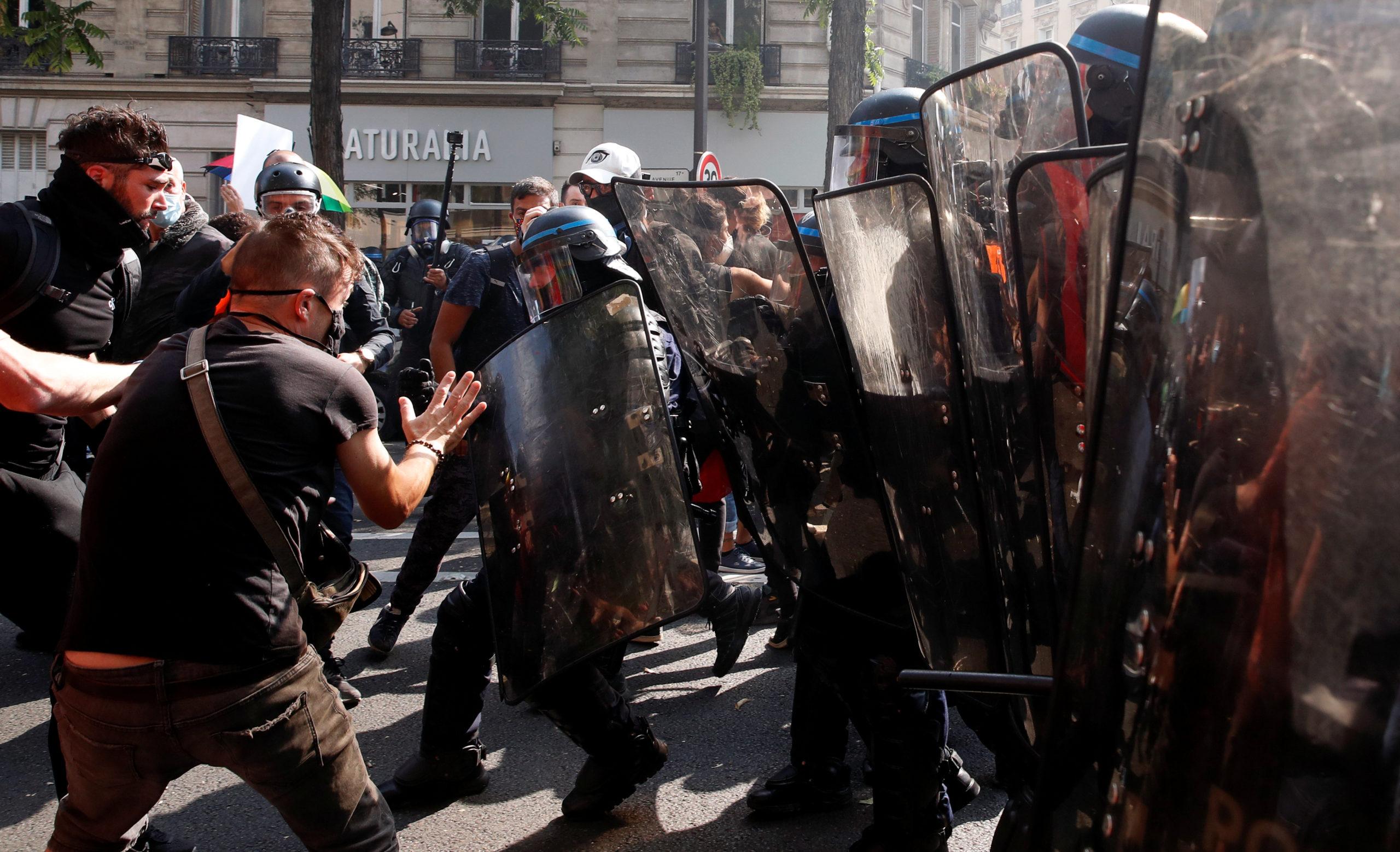 Journée test avec la manifestation des Gilets jaunes, quelques tensions place Wagram