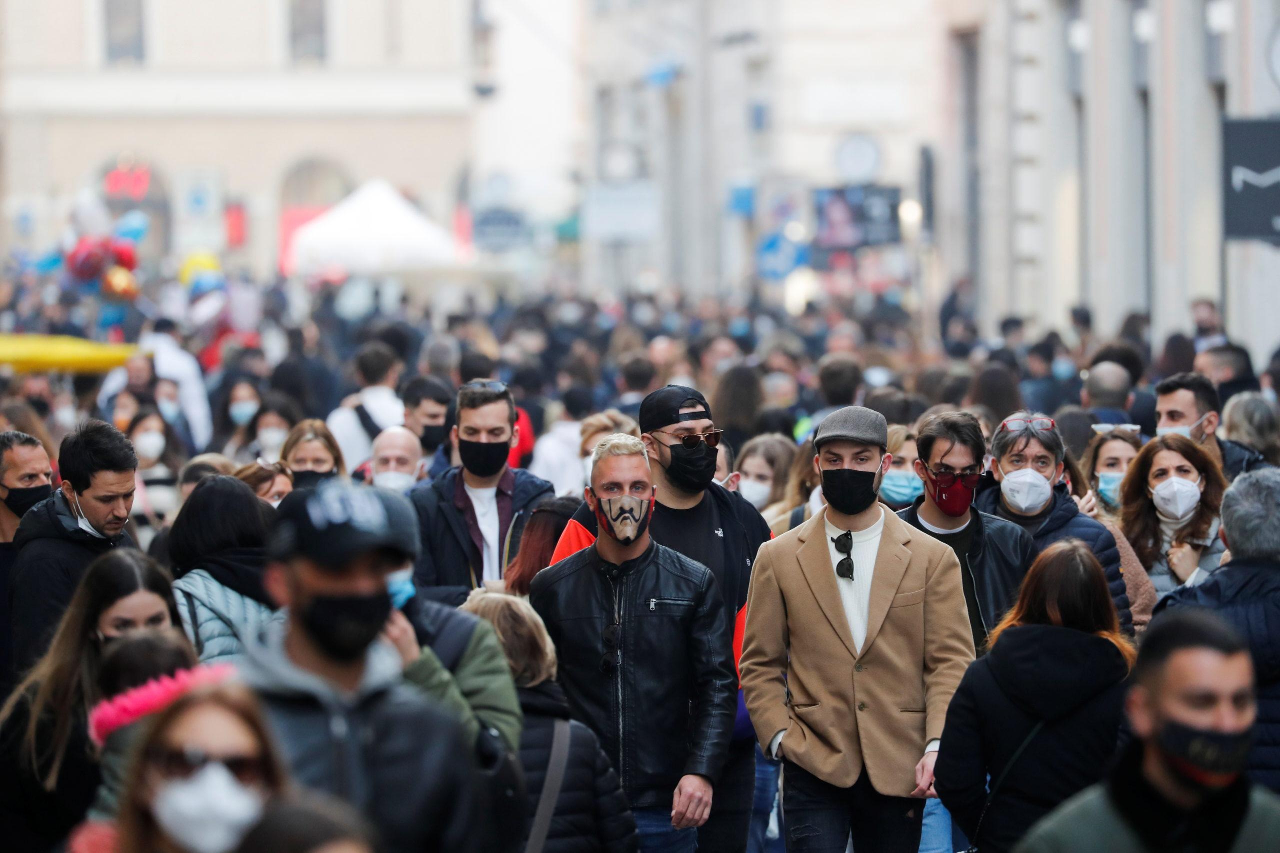 L'Italie a enregistré 280 morts et 18.916 nouveaux cas