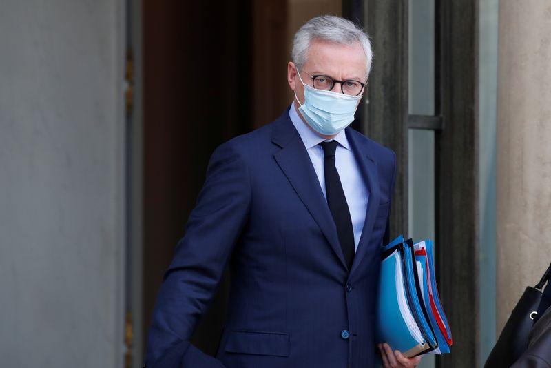 Le dispositif d'indemnisation des entreprises fermées coûtera 1,6 milliard d'euros par mois, dit Le Maire
