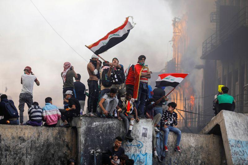 Le gouvernement irakien à nouveau contesté dans la rue