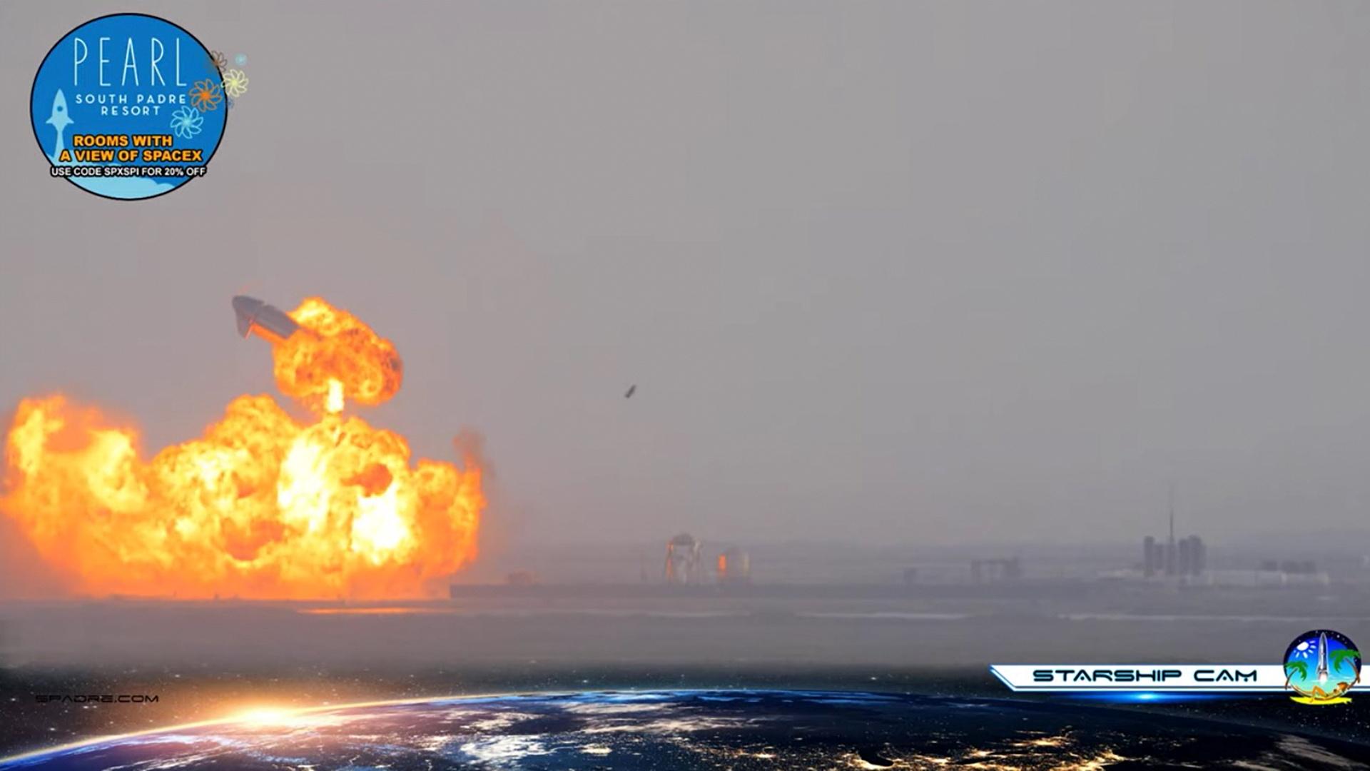 Le prototype Starship de SpaceX réussit son atterrissage, puis explose