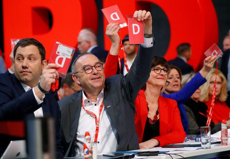 Le SPD prolonge son bail au sein de la coalition avec l'Union chrétienne-démocrate d'Allemagne