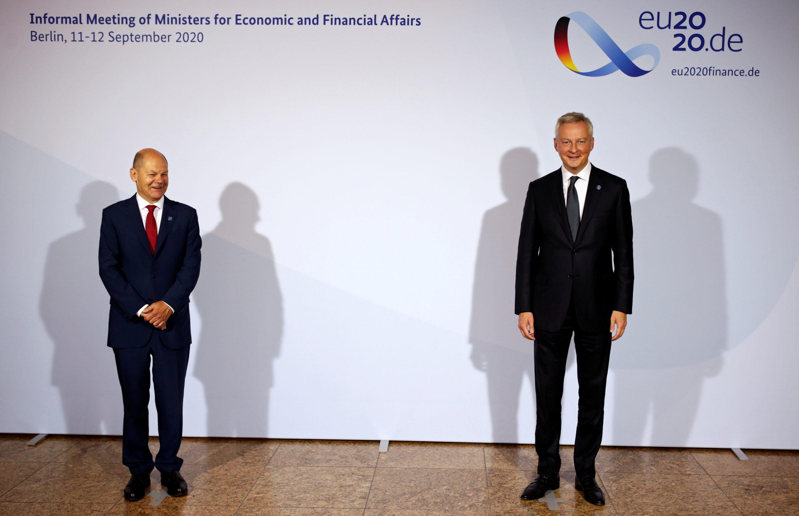 Les ministres européens des Finances à Berlin avec l'objectif de financer l'emprunt Covid
