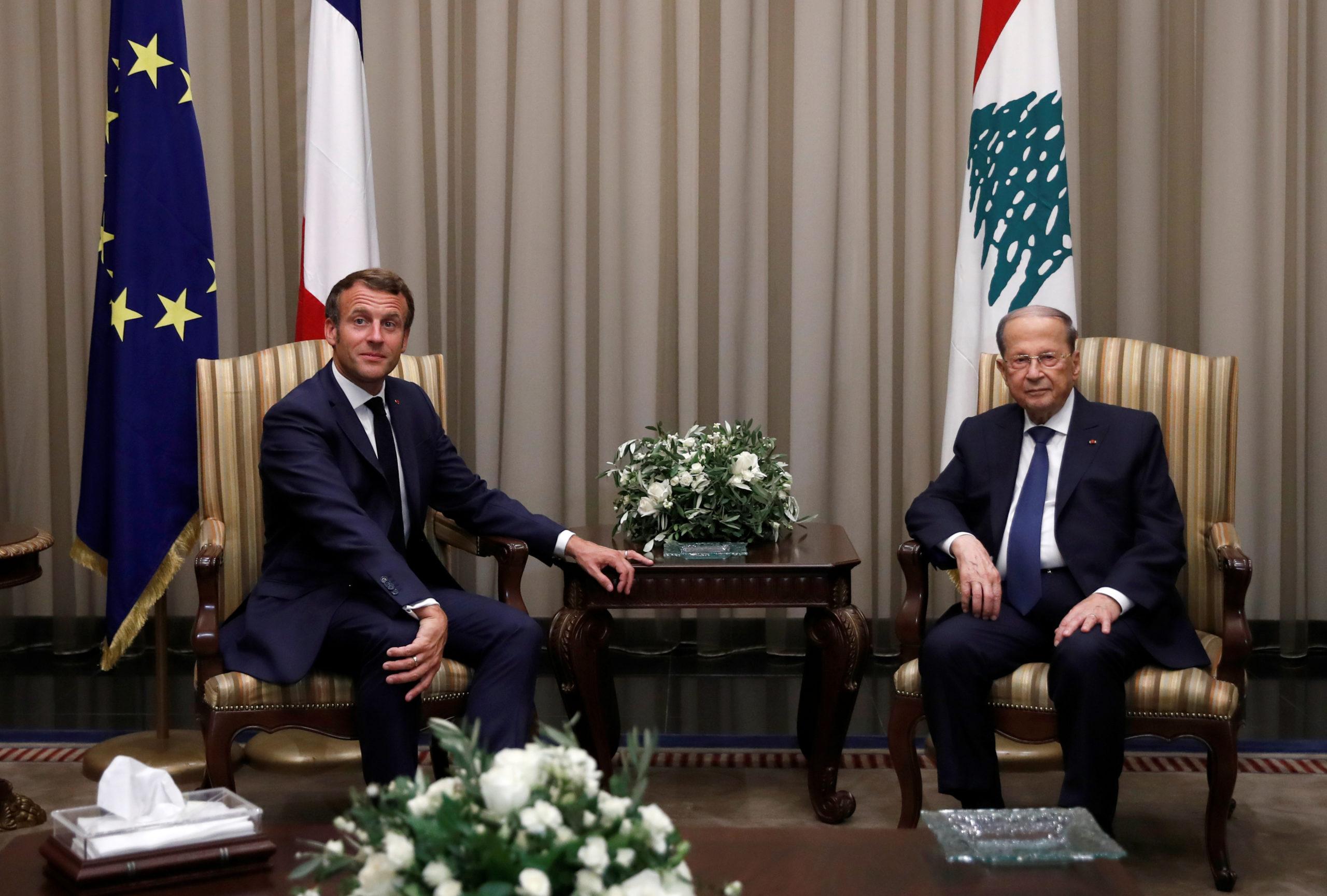 Liban: Macron insiste auprès d'Aoun sur l'urgence de la situation