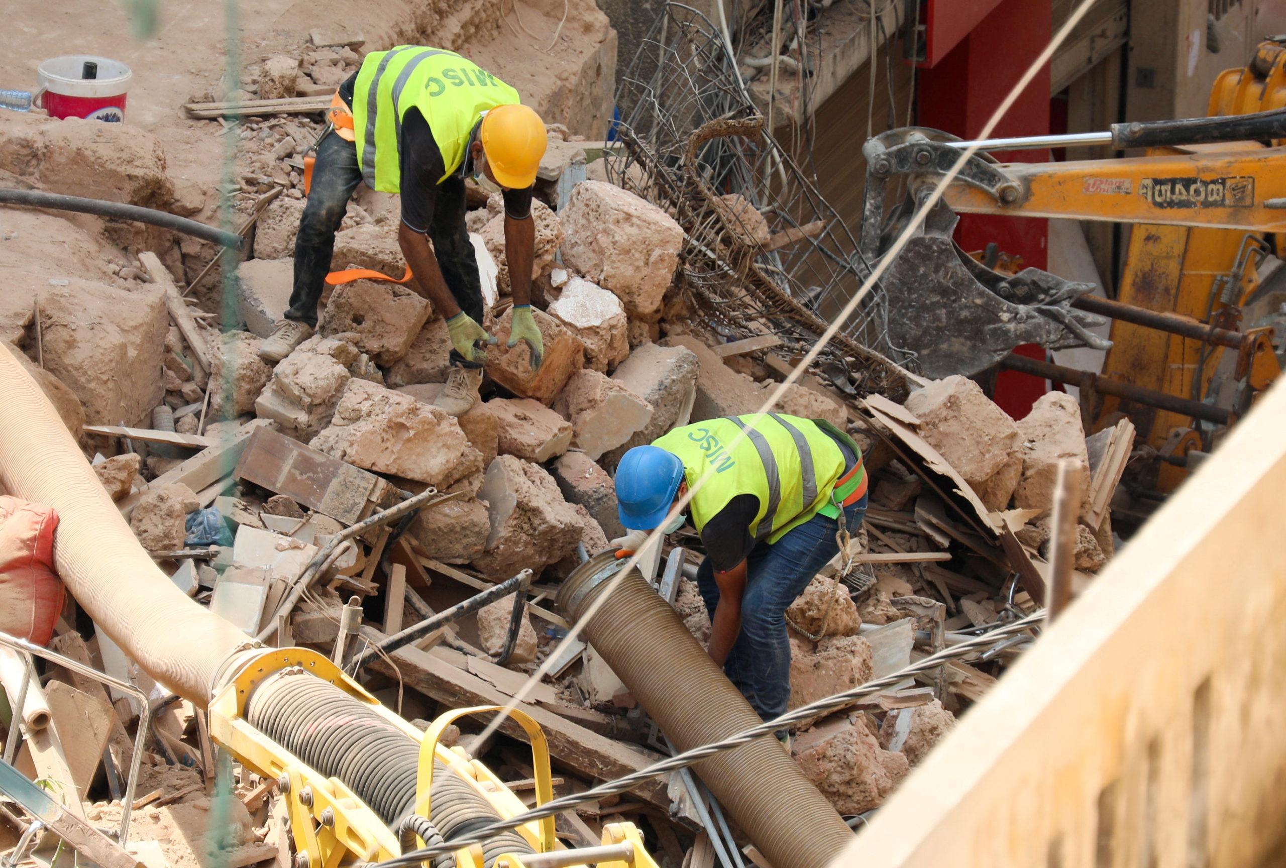 Liban: Plus d'espoir de retrouver des survivants après l'explosion