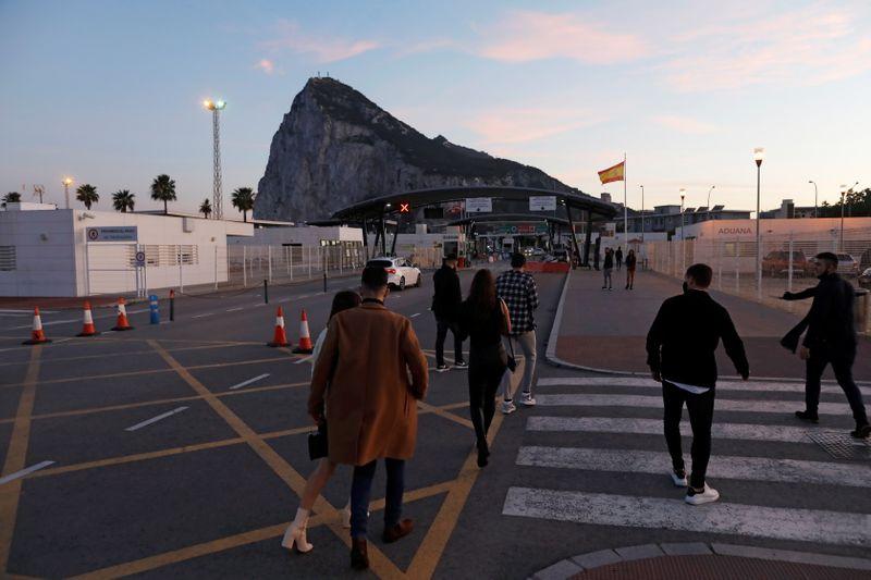 Londres et Madrid s'accordent pour laisser la frontière de Gibraltar ouverte