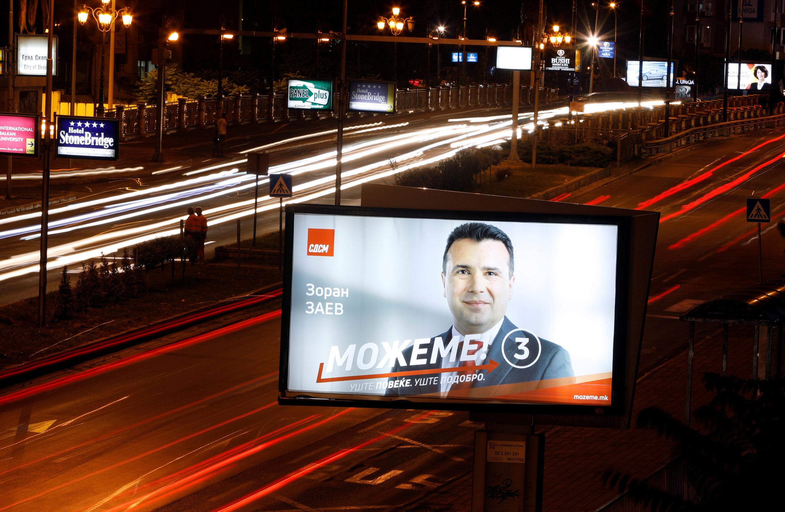 Macédoine du Nord : Législatives avec l'adhésion à l'UE en toile de fond