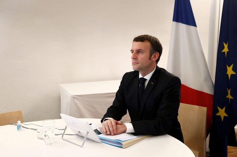 """Macron observe un """"rééquilibrage"""" du dialogue entre la Chine et l'UE"""