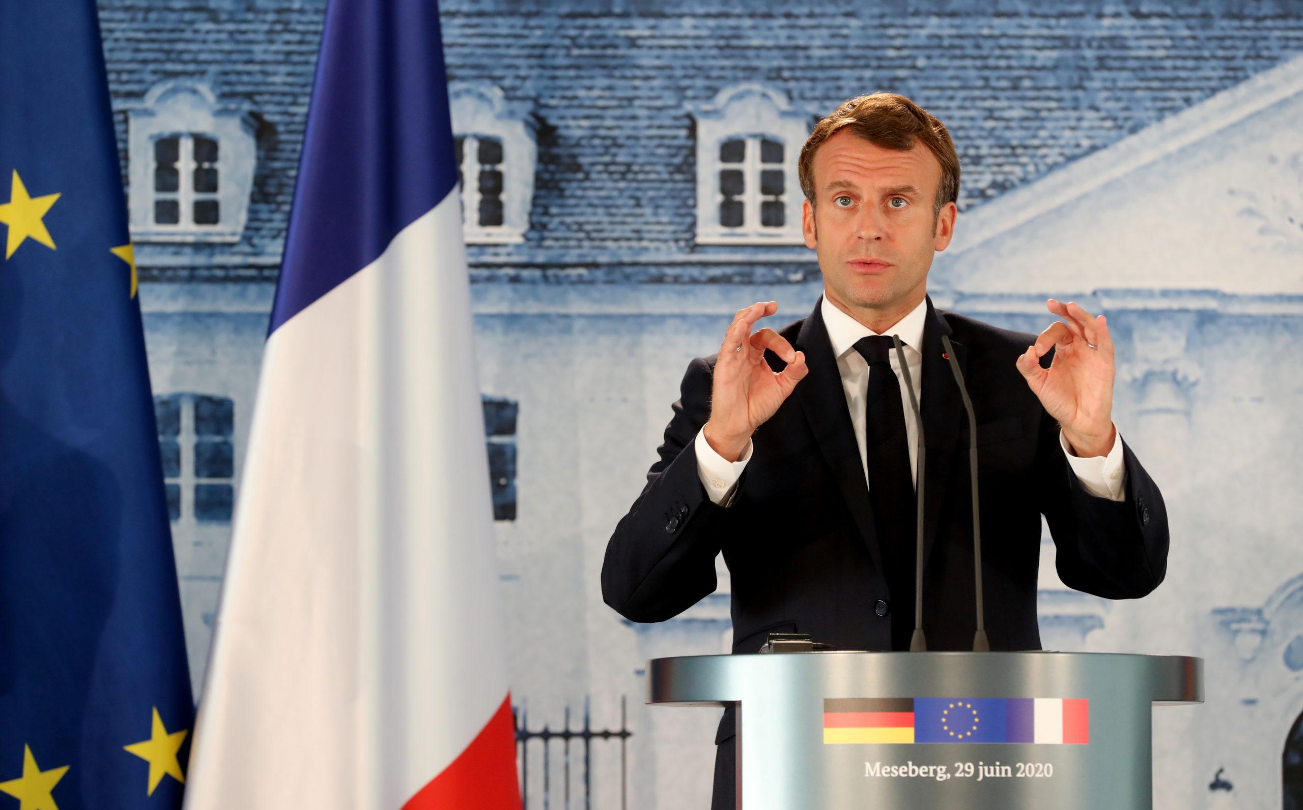 Macron réaffirme son désir d'accord sur le plan de relance de l'UE en juillet