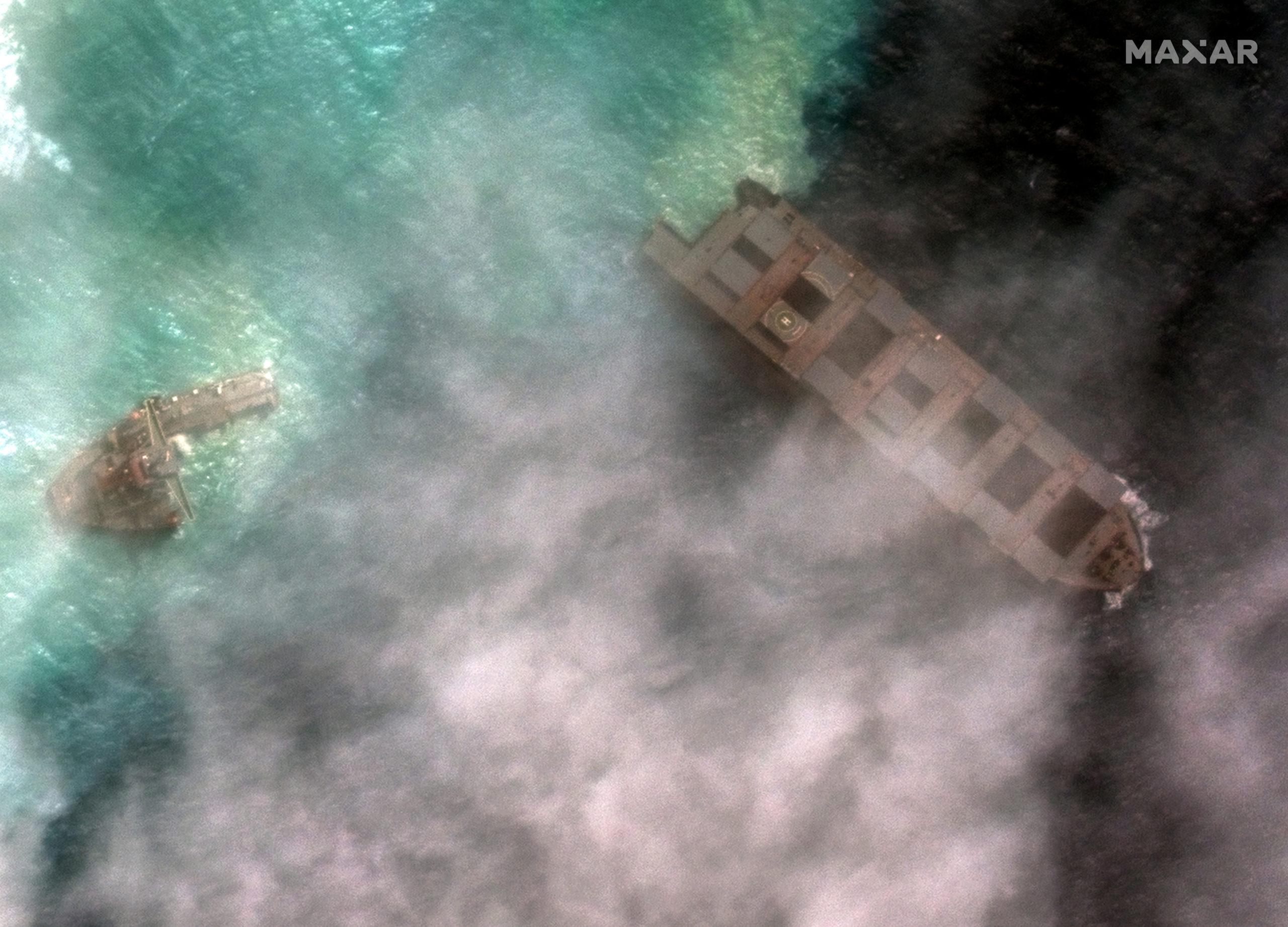 Marée noire à Maurice: Excuses du propriétaire japonais du bateau