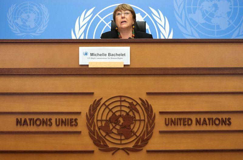 Michelle Bachelet demande le retrait de l'article 24 en France
