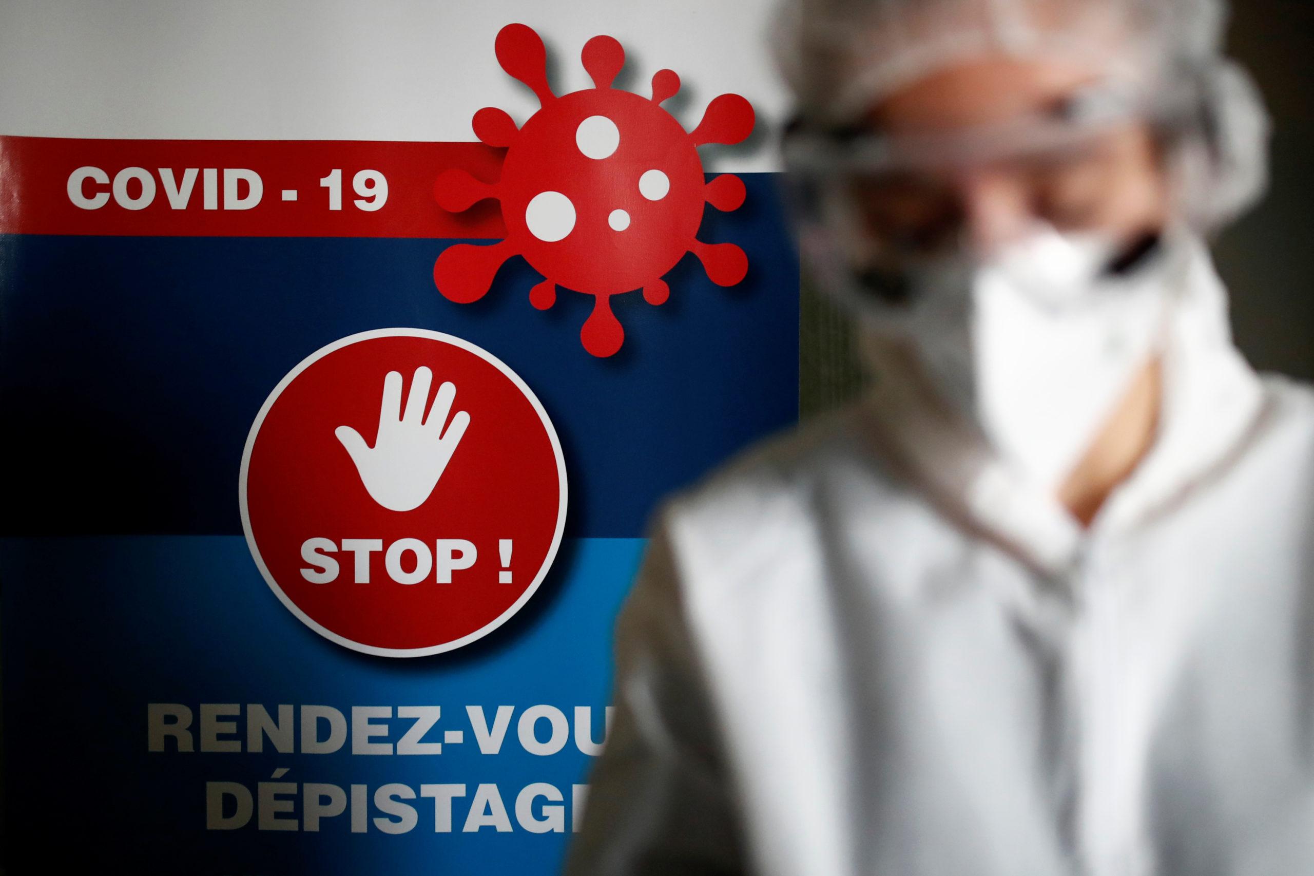Progression record du coronavirus en France, plus de 20.000 nouveaux cas en 24 heures