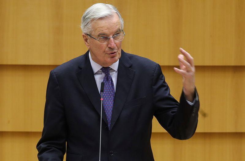 """Brexit: Il ne reste que """"quelques heures"""" pour conclure, dit Barnier"""