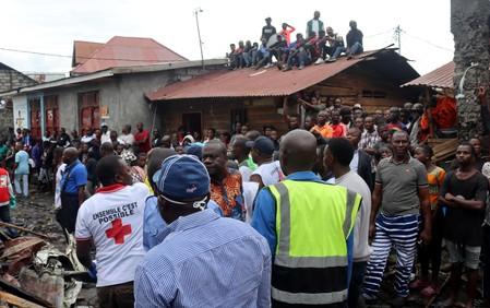 RDC: Un avion s'écrase dans l'est du pays, au moins 24 morts