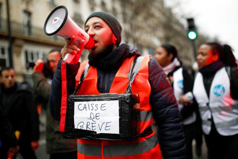 Retraites: L'intersyndicale appelle à manifester le 11 janvier