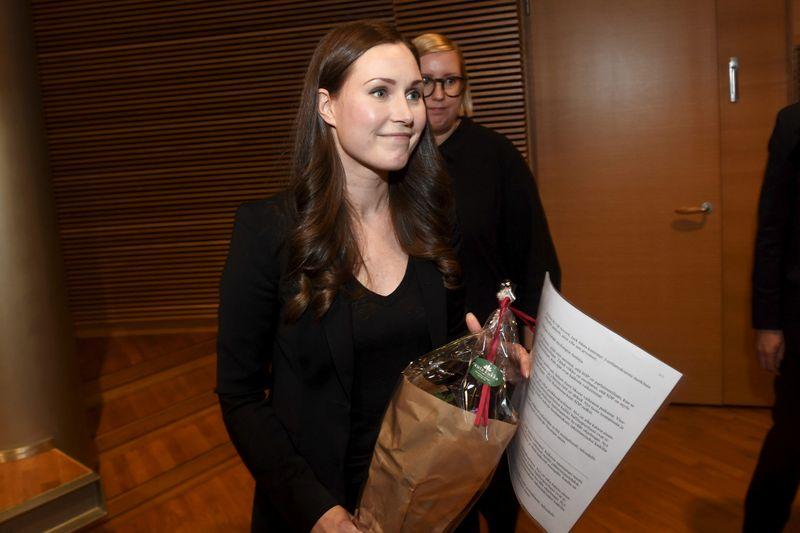 Sanna Marin devient la plus jeune Première ministre de Finlande