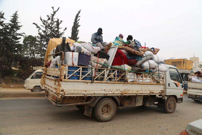 Syrie: Plus de 235.000 civils déplacés dans la région d'Idlib