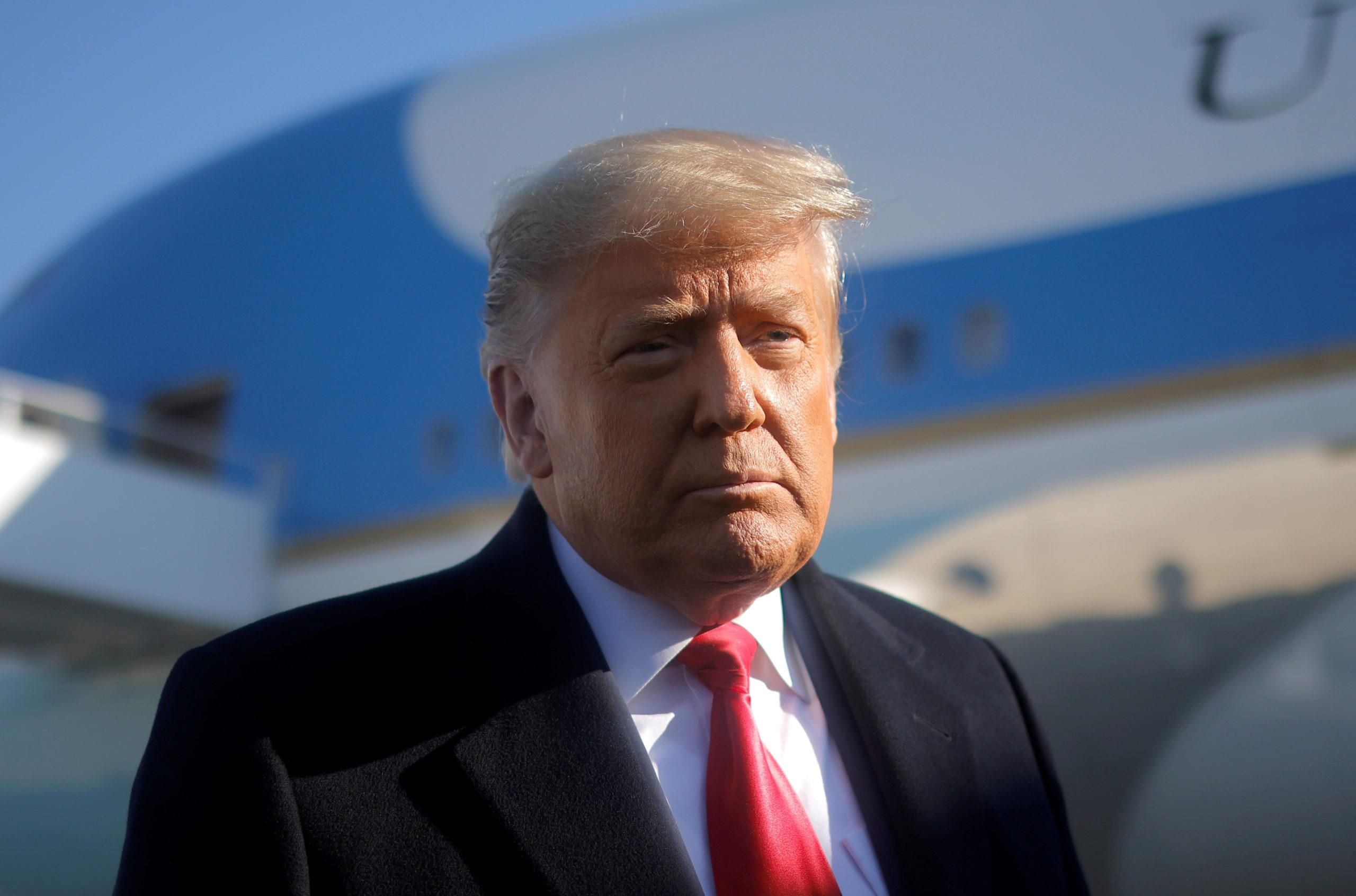 Trump envisage un retour en politique