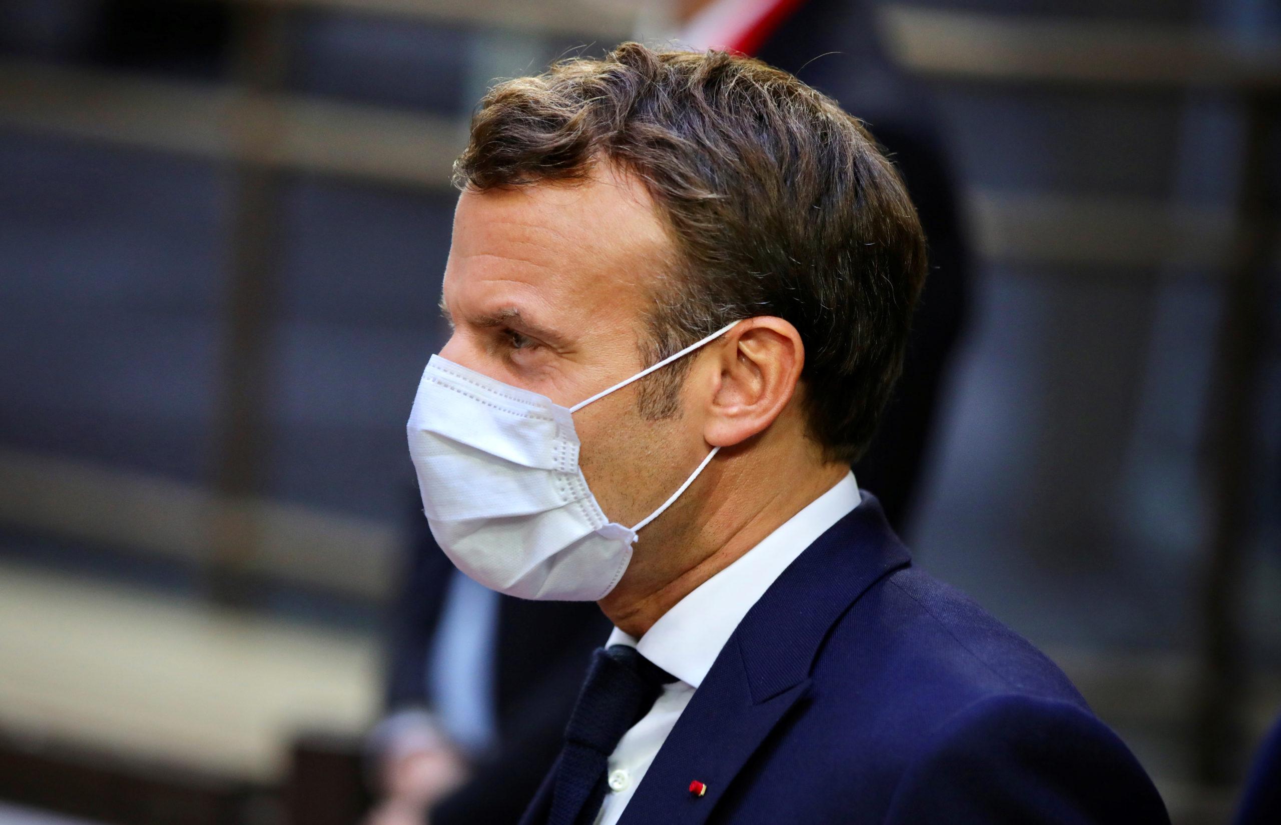 """UE: Macron """"extrêmement prudent"""" sur les chances d'un accord sur le plan de relance"""