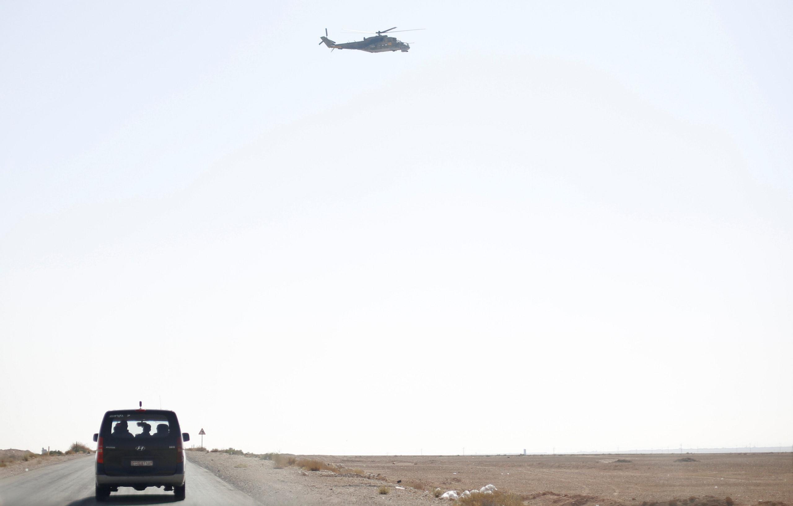 Un hélicoptère russe s'est écrasé en Syrie