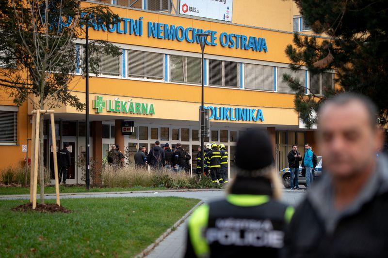 Une fusillade fait six morts dans un hôpital tchèque