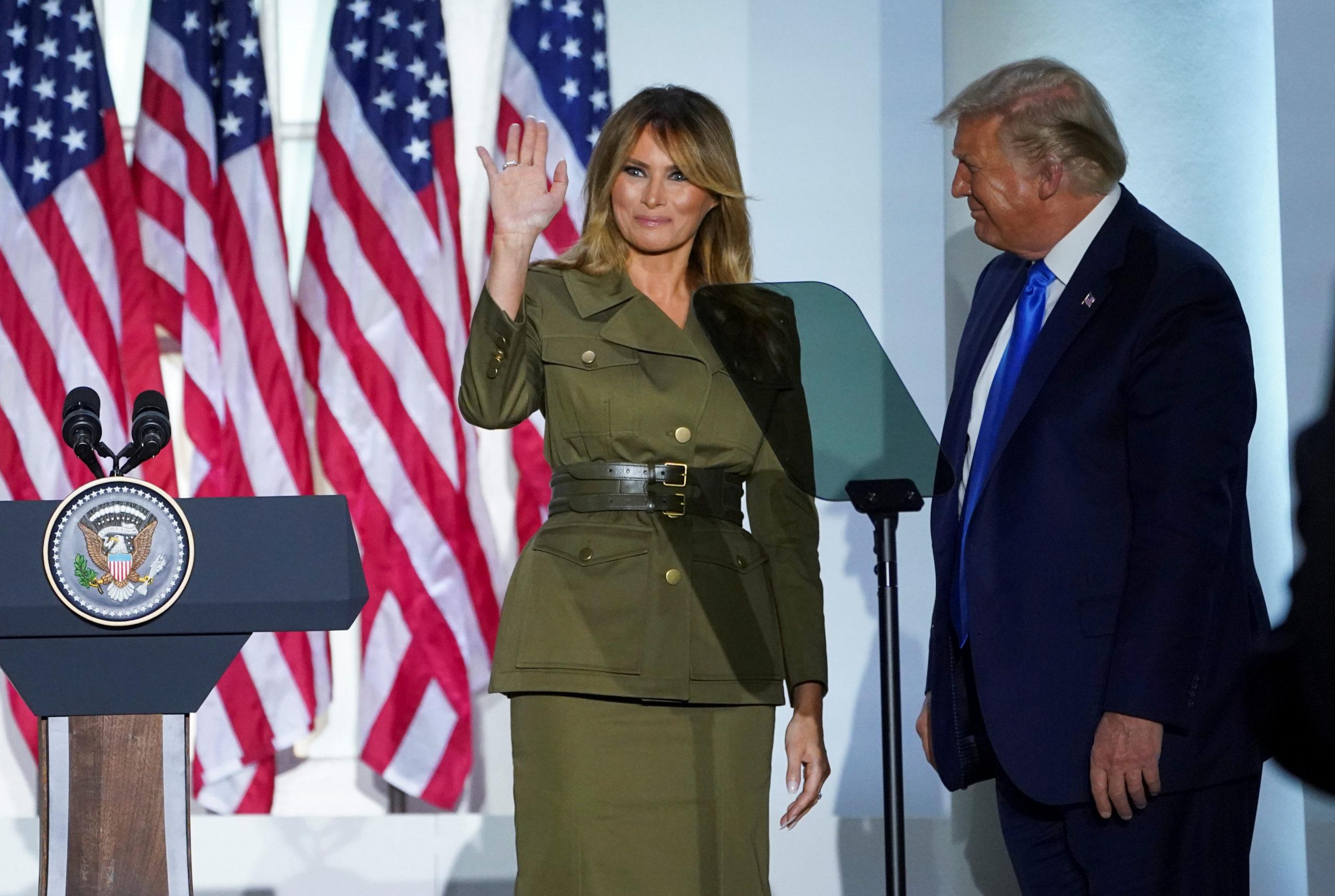 USA: Melania Trump appelle à la réélection de son mari dans un discours passionné