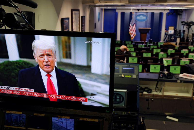 USA: Trump appelle ses partisans à rentrer chez eux