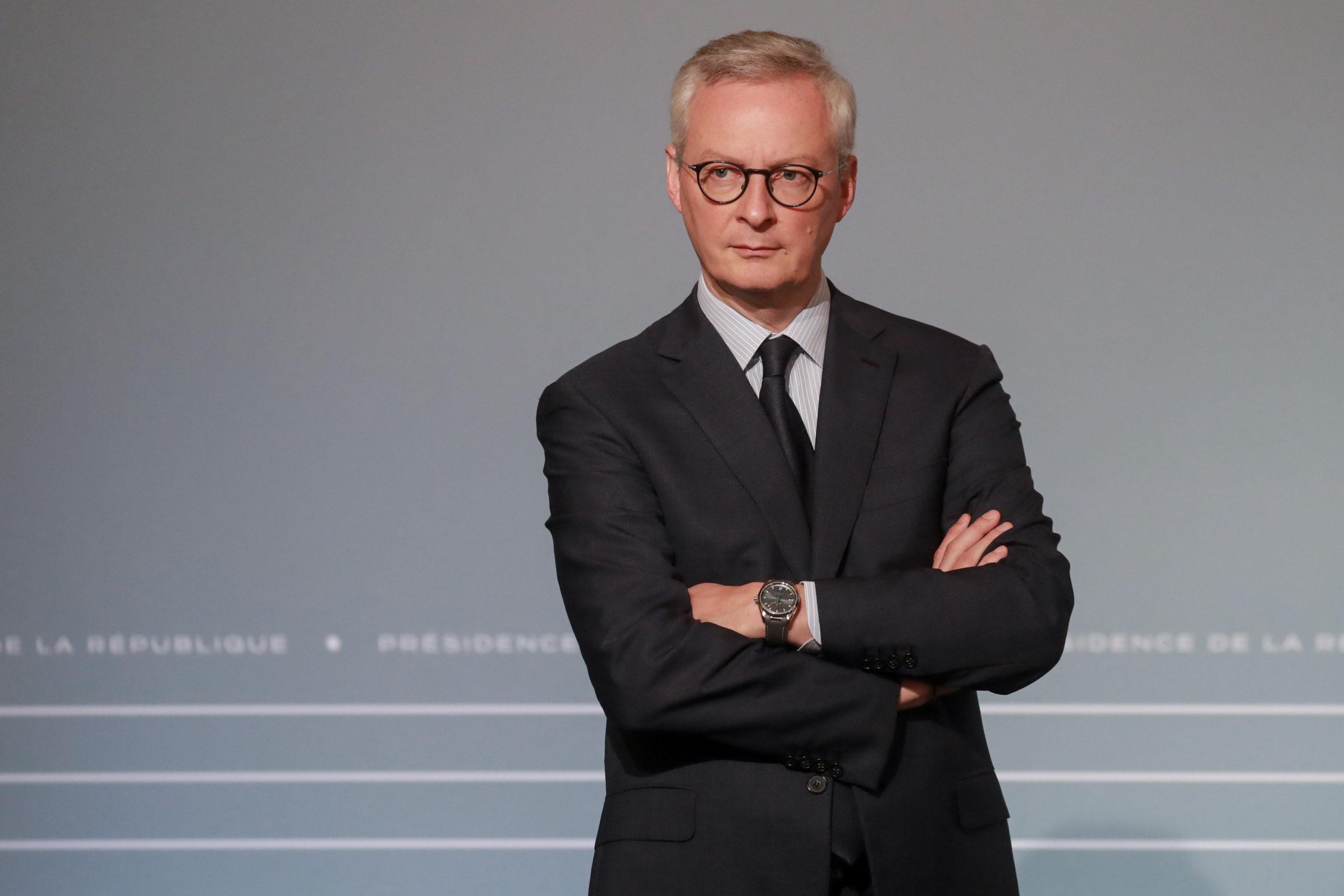 """Veolia/Suez: Bruno Le Maire ne veut """"ni vainqueur ni vaincu"""""""