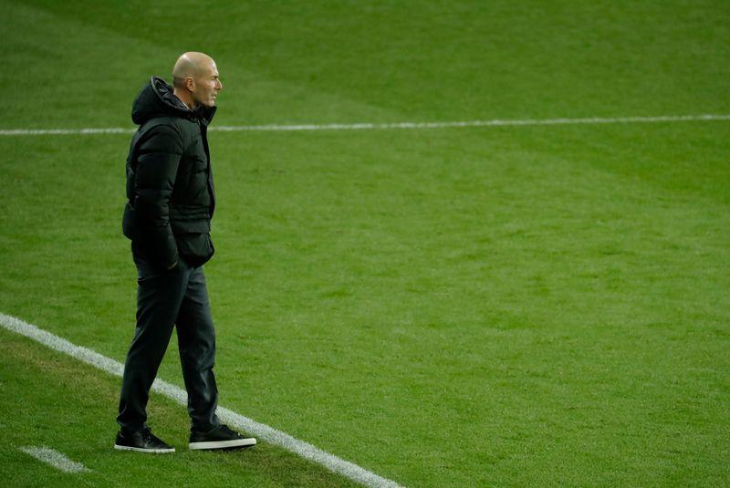 Zidane testé positif au COVID-19